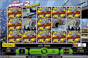 Spilleautomat - Jack Hammer 2