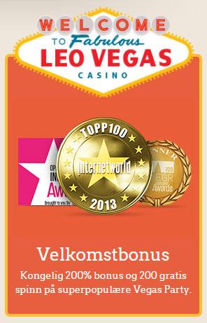 LeoVegas bonustilbud
